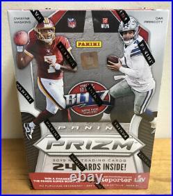 2019 Panini Prizm NFL Football Sealed Blaster Box Murray Metcalf Jones Rc Cards