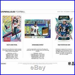 2019 Panini Unparalleled Football Hobby Sealed Box Pre-order