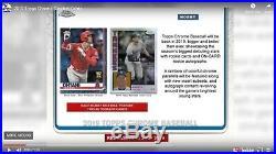 2019 Topps Chrome Baseball Hobby Sealed Box Presell 7/31