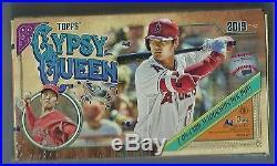 2019 Topps Gypsy Queen Baseball Factory Sealed Hobby Box