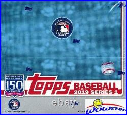 2019 Topps Series 1 Baseball MASSIVE 24 Pack Factory Sealed Retail Box-384 Cards