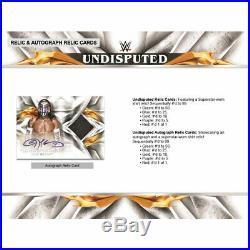 2019 Topps Wwe Undisputed Wrestling Hobby Sealed Box Pre-order