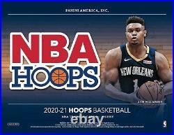 2020-21 Panini Hoops Basketball Hobby Box Factory Sealed Presale