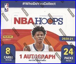 2020-21 Panini Nba Hoops Basketball Cards Factory Sealed 24 Pack Retail Box Nba