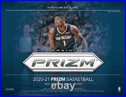 2020-21 Panini Prizm Basketball Factory Sealed Hobby Box Pre Sale