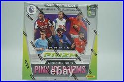 2020-21 Panini Prizm SOCCER English Premier League EPL Mega Box SEALED 12-PACKS