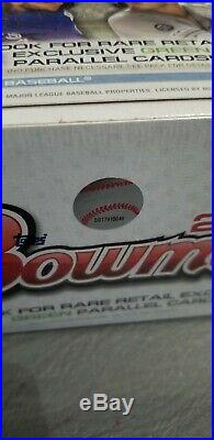 2020 Bowman Baseball Sealed Retail Box = 24-Packs Jasson Dominguez