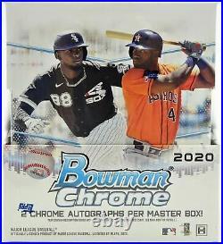 2020 Bowman Chrome Hobby Baseball Factory Sealed Unopened Box 12 Packs