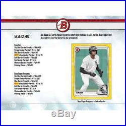 2020 Bowman Jumbo Baseball Factory Sealed Hobby Box Pre-Sale 4/15
