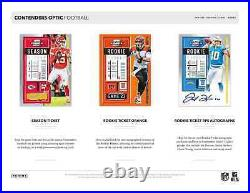 2020 Panini Contenders Optic Football Hobby Box New And Sealed Free Shipping