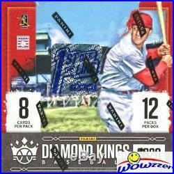 2020 Panini Diamond Kings Baseball Factory Sealed 1st of the Line HOBBY Box FOTL