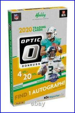2020 Panini Donruss Optic Football Hobby Box(s) PRESALE Sealed Ship 2/18
