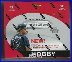 2020 Panini Prizm Baseball Factory Sealed Hobby Box