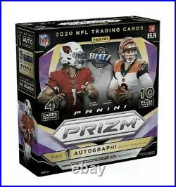 2020 Panini Prizm Football Factory Sealed 10-Pack Mega Box Fanatics-Exclusive