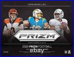 2020 Panini Prizm Football Factory Sealed Hobby Box