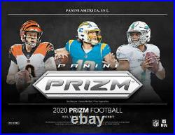 2020 Panini Prizm Football Factory Sealed Hobby Box Pre Sale Burrow Tua