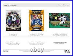 2020 Panini Select Football Hobby Box New And Sealed Free Priority Shipping
