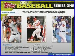 2020 Topps Series 1 Jumbo Baseball FACTORY SEALED 6-Box Case + 12 Silver Packs