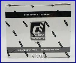 2021 Donruss Baseball Fat Pack Box 12 Packs of 30 Factory Sealed