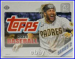 2021 Topps Baseball Series 2 Factory Sealed Jumbo Box
