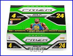 2X 2018-19 Panini Prizm Basketball Box Retail 24 Packs/Box Lot Doncic Sealed New