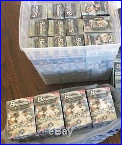 (31) 2017 Bowman Platinum Sealed Boxes Lot (4) Collector Hobby (27) Blaster Wow