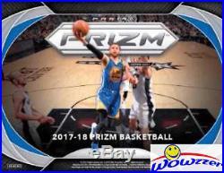 (5) 2017/18 Panini PRIZM Basketball EXCLUSIVE Sealed Blaster Box-5 AUTOGRAPH/MEM