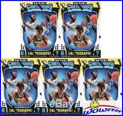 (5) 2019/20 Panini Contenders Draft Picks Basketball Sealed Blaster Box-5 AUTOS