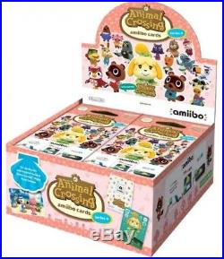 Amiibo Animal Crossing Cards Series 4 (Sealed Box) Brand New