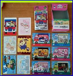 Amiibo card x all 6 + seal + box Sanrio x Animal Crossing Hello kitty complete