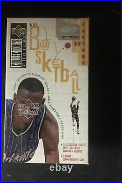 Brand New 96-97 Upper Deck Collector's Choice BOX SET NBA Cards Factory Sealed