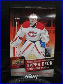 Brand New Sealed 2015-16 Upper Deck UD Series 1 Case -12 boxes Connor Mcdavid