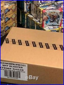 Brand New Sealed Case Of 20 2019-20 Panini Prizm Blaster Box Basketball Cards