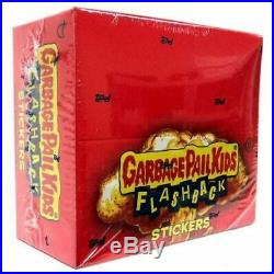 Garbage Pail Kids Flashback Series 2 Trading Card Sticker SEALED Box 24 Packs