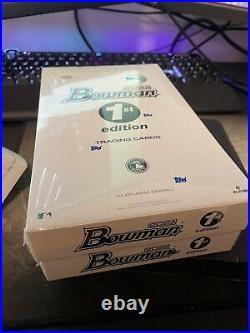 INHAND Topps 2021 Bowman MLB Baseball 1st Edition Sealed Box-24 Packs