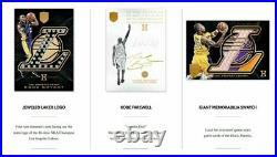 Kobe Bryant 2017 Panini Kobe Eminence Basketball Hobby Box Sealed Case Lakers