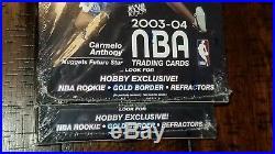 LEBRON JAMES 2003-04 Topps Chrome BASKETBALL Hobby Box FACTORY SEALED Rookie RC