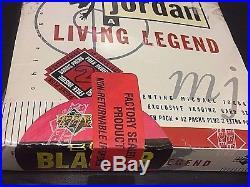 MICHAEL JORDAN 1998-99 Upper Deck A LIVING LEGEND Factory Sealed BOX Poss AUTO