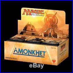 MTG. AMONKHET Sealed English Booster Box Lot of 4 boxes Lot #1