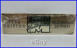 Marvel Masterpieces Trading Cards Sealed Gold Box Hildebrandt Brothers 1994