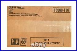 McDonald's 25th Anniversary Pokemon Cards 150 packs Case #1 Sealed Box