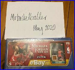 Michael Jordan 2007-08 Fleer 200 card SEALED box set rookie floor CARD AUTO