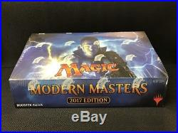 Modern Masters 2017 Full Booster Box Factory Sealed MTG Magic Cards