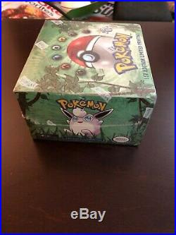 POKEMON JUNGLE BOOSTER BOX 1st Edition Wizards WotC Cards SEALED