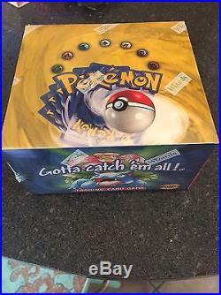 Pokémon Cards Factory Sealed Base Set Booster Box (ENGLISH) 1999 WOTC
