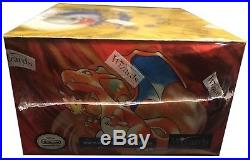 Pokemon Card English Unlimited Blue Wing Charizard Base Set Booster Box. Sealed