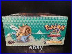 Pokemon Card Skyridge Booster Box Wizards Of The Coast Brand New Sealed