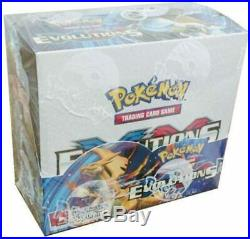 Pokemon Evolutions XY Booster Box Cards SEALED NEW! 36 Sealed Packs