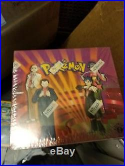 Pokemon Gym Challenge Unlimited Sealed Trading Card Game Booster Box TCG