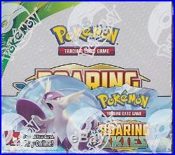Pokemon Roaring Skies sealed unopened booster box 36 packs 10 cards 2nd Printing